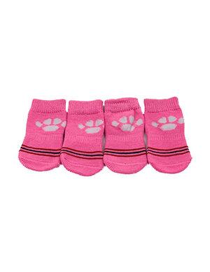 Pet Socks Pink Large