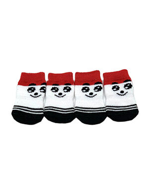 Pet Socks Smiley Large