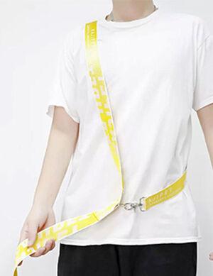 Free Hand Leash Yellow