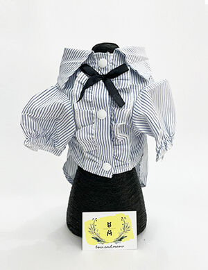 Blue & White Stripe Shirt XX-Large -  Dogs product