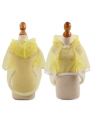 Yellow Summer Hoodie X-Large