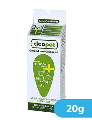 Cleapet Antibacterial Nano Pet Deodorizing Cat and Dog Towel 20g