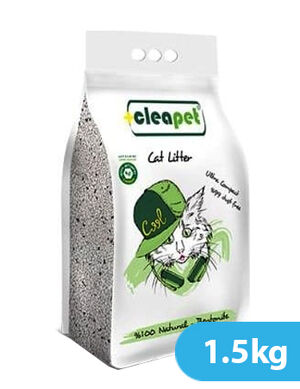 Cleapet with Activated Carbon  Natural - Bentonite 1.5kg