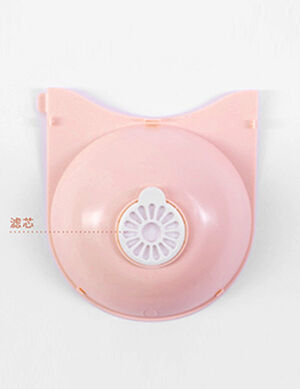 Water Dispenser & food bowl Pink 2.8L   -  Dogs product