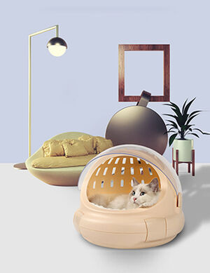 Carrier Beige 30*35cm -  Dogs product