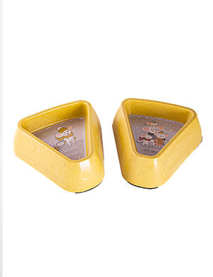 Bowl Yellow 18.4*17.5*6cm (300ml) -  Dogs product