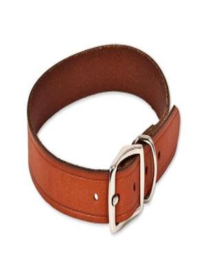 Sleeky Collar Belt Leather Brown