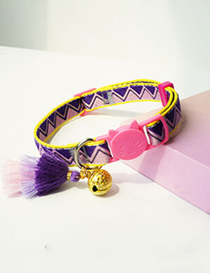 Collar Bohemian Pink Free Size
