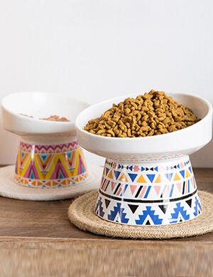 Ceramic Bowl Bohemian Blue 10.5*10.6*13.5 cm -  Dogs product