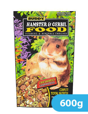 Buddy Hamster & Gerbil Food 600g