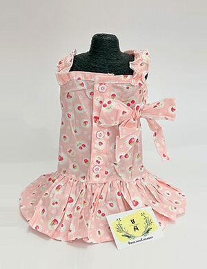 Fruit Summer Dress Pink Large