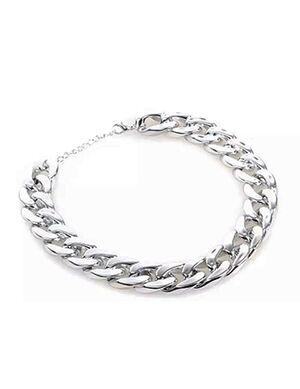 Pet Silver Necklace Adjustable