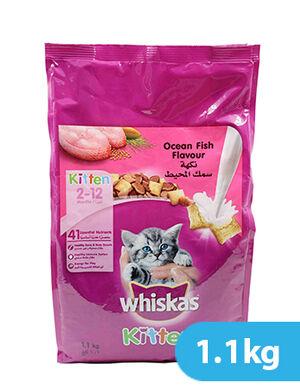 Whiskas Ocean Fish Kitten 1.1kg