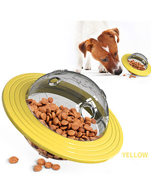 Dog Treat Toy Yellow Large Size -  Dogs product
