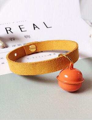 Collar Mustard Free Size