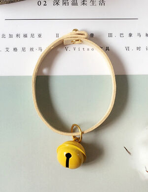 Collar yellow Free Size