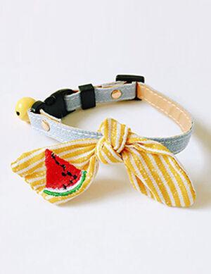 Collar Yellow/Watermelon Free Size
