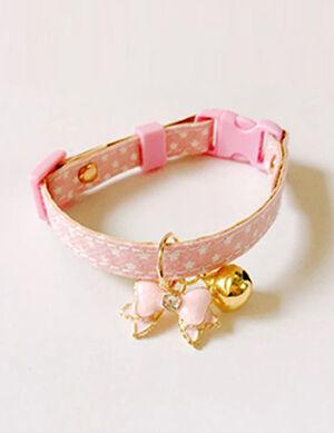 Collar Pink Free Size