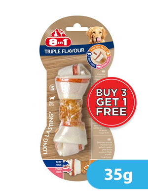 8in1 Triple Flavour Small 35g (3+1) Free