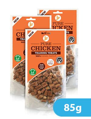 Jr Pure Chicken Training Treats 85g