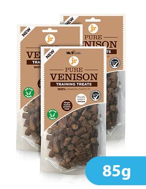 Jr Pure Venison Training Treats 85g