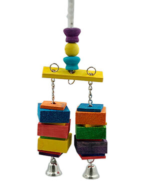VanPet Colorful Bird Toy (00002)