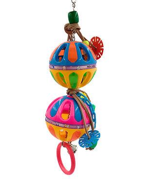 VanPet Colorful Bird Toy (02717)