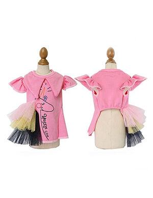 Unicorn Dress Pink Medium