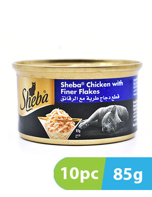 Sheba chicken with finer flakes 10 x 85g