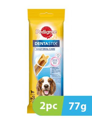 Pedigree DentaStix Daily Dental Chew for Medium Dogs 2pc x 77g