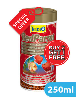 Tetra Red Parrot 250ml 2+1 Free