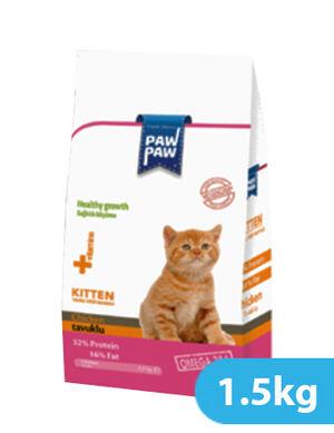 Paw Paw Kitten Food Chicken 1.5kg