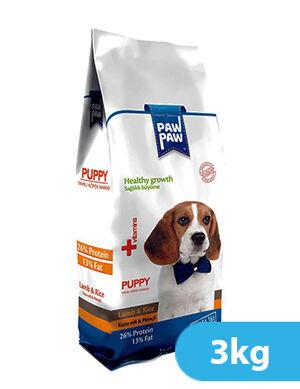 Paw Paw Puppy Lamb & Rice 3kg
