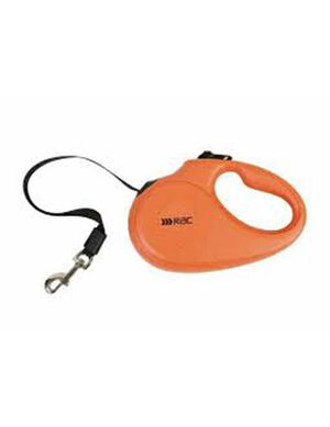 Petbrands RAC Retractable Leash Small Orange