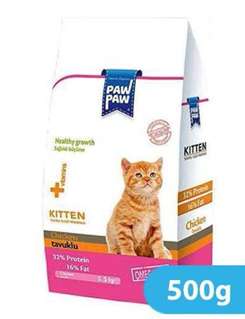 Paw Paw Kitten Food Chicken 500g