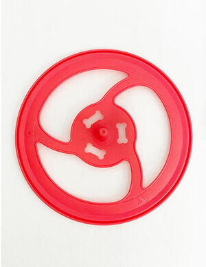 Red Flying Discs Training Toy