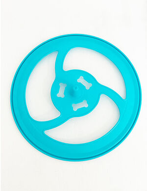 Blue Flying Discs Training Toy