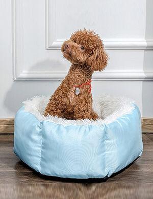 Bed Light Blue 60cm Diameter -  Dogs product