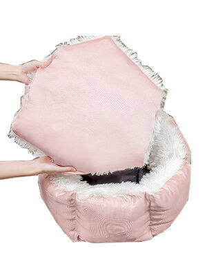 Bed Light Pink 60cm Diameter -  Dogs product