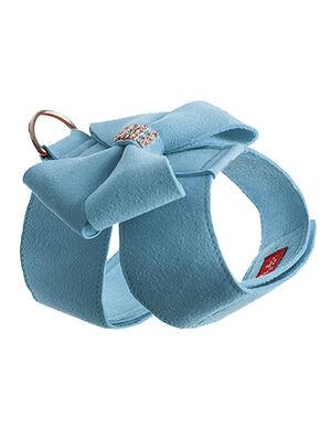 Bow Harness Aqua Blue Medium