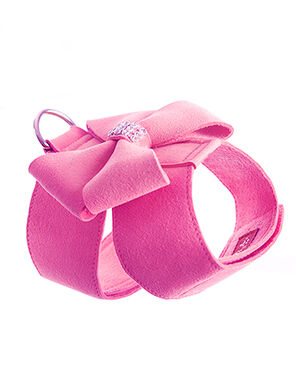 Bow Harness Pink Small