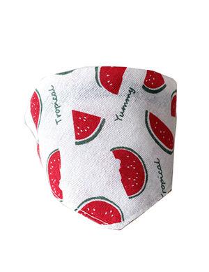 Bandanas White Watermelon Small