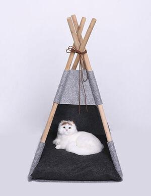 Exclusive Tent Grey & Black Medium