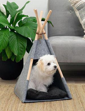 Exclusive Tent Grey & Black Medium -  Dogs product