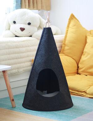 Cone Tent Black Medium