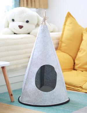 Cone Tent White Medium