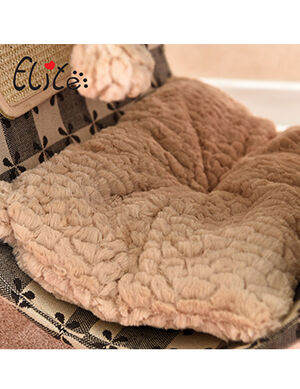Exclusive Tunnel Bed Black & Beige Large -  Dogs product