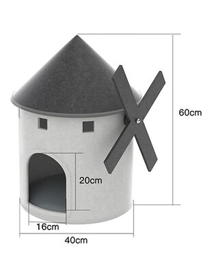Exclusive Pet House White
