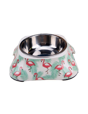 Flamingo Design Feeding Bowl