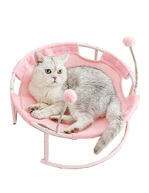 Cat Chair Pink